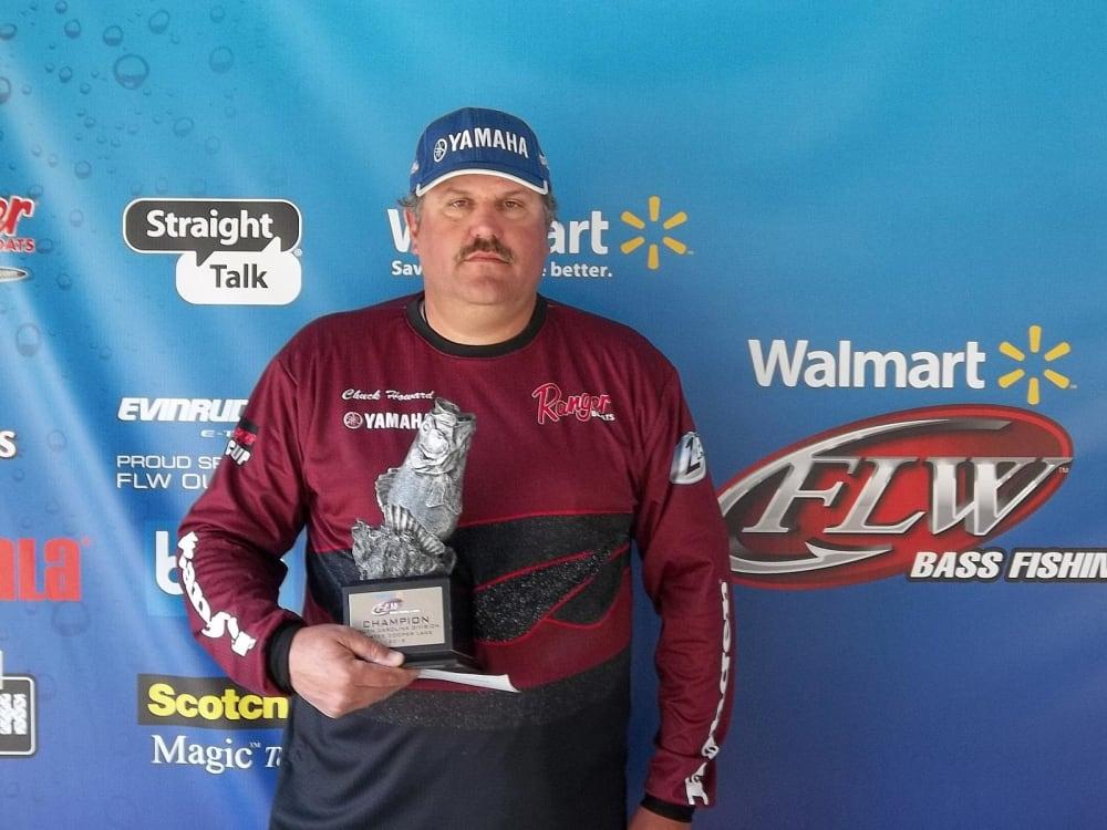 Howard wins walmart bass fishing league south carolina for Walmart with live fish near me