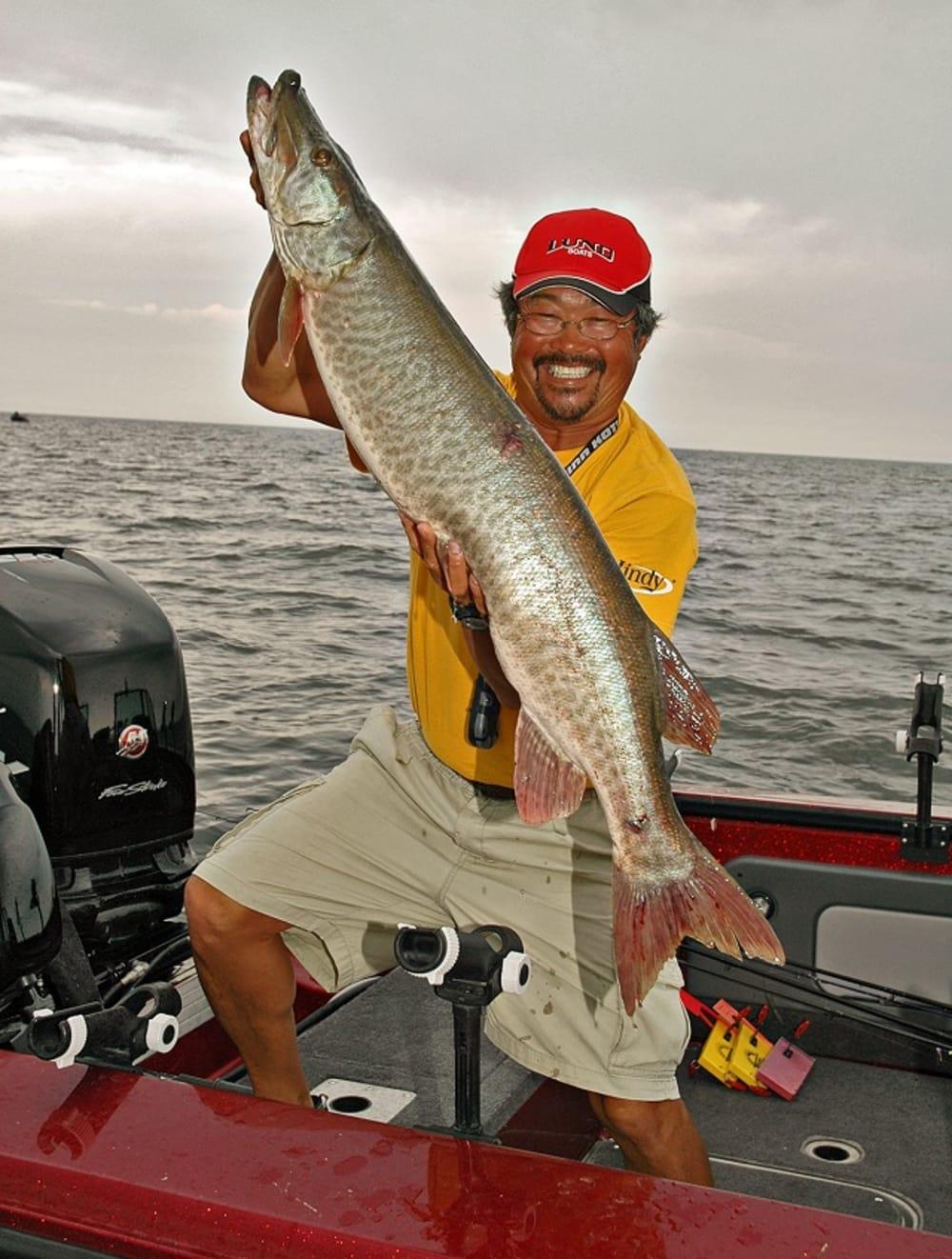 Ted takasaki 39 s summertime muskie fishing tips and tricks for Fishing tips and tricks