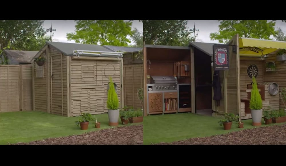 video this ultimate bbq shed will make your bbqs the best