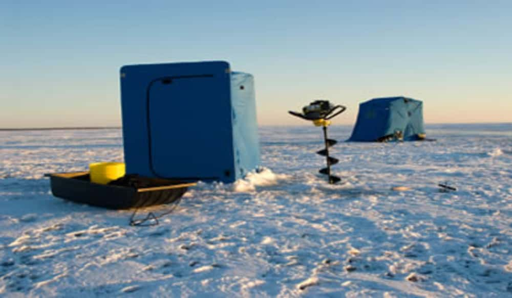 Small Fishing Shelters : How to buy an ice fishing shelter outdoorhub