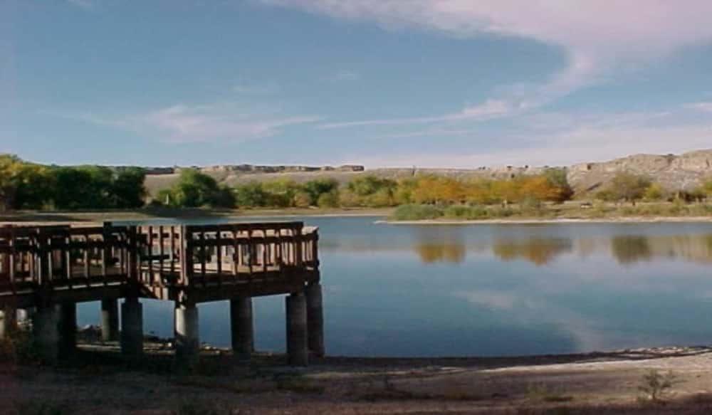 lake pueblo state park in colorado shifts to winter boat