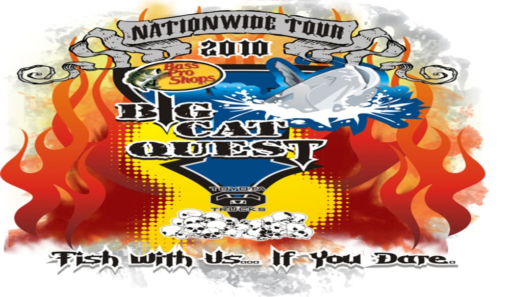 Big cat quest national fishing tournament announces dates for Mississippi fishing license cost