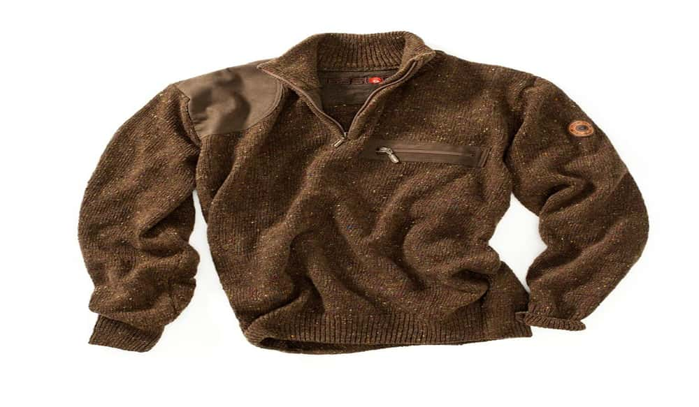 e97574fb7238a GASTON J. GLOCK style LP Introduces Genuine Donegal Wool Hunting Sweater