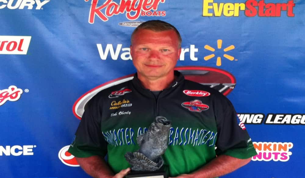 Oberly wins walmart bass fishing league northeast division for Fishing license md walmart
