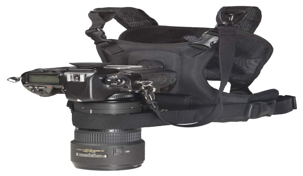 Camera Vest From Cotton Carrier Eliminates Camera Strap