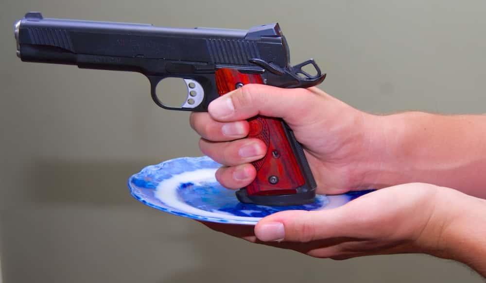 7 Deadly Sins of Handgun Shooting Cup and Saucer Grip OutdoorHub