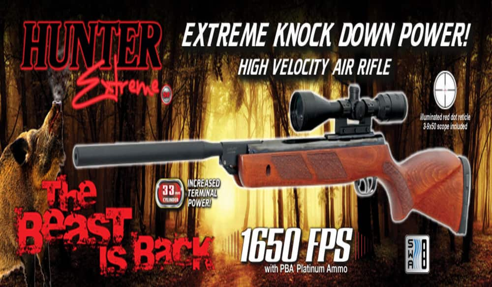 Game Outdoor USA to Re-launch the Hunter Extreme SE Air Rifle