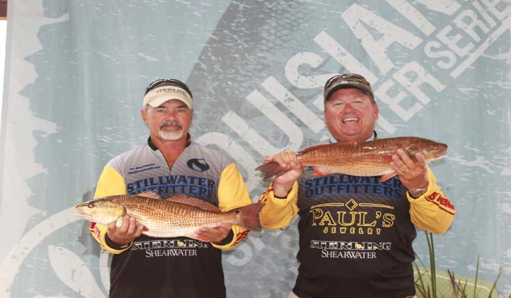 Louisiana saltwater series announces top ten team of the for Red fish season
