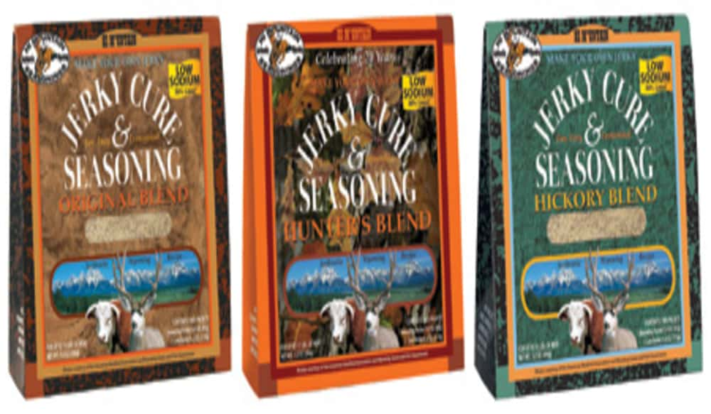 Hi Mountain Seasonings Introduces Three New Low Sodium Jerky Cure
