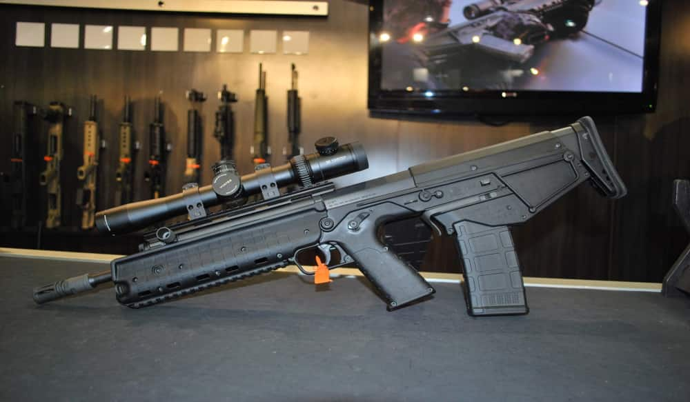 kel tec showcases new rdb and m43 bullpup rifles at shot show
