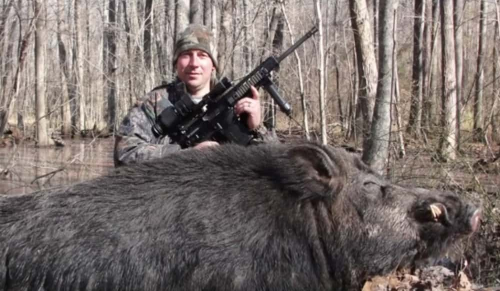 North Carolina Hunter Bags Huge Hog | OutdoorHub