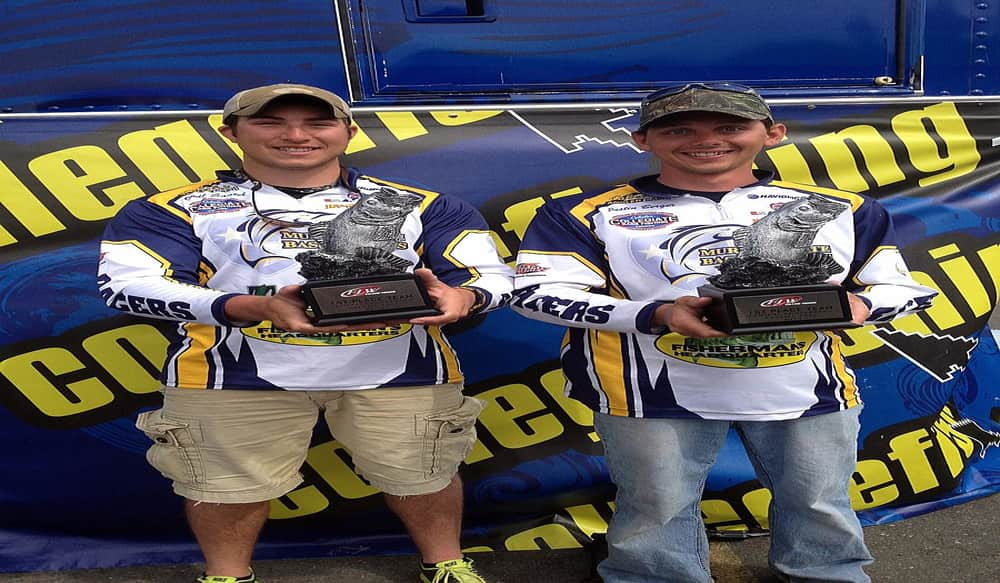 Murray state university wins flw college fishing central for Flw college fishing