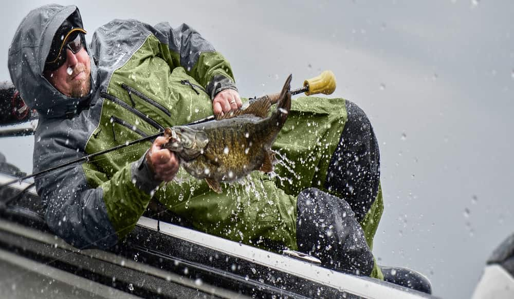 Foul weather fishing outdoorhub for Spring warrior fish camp