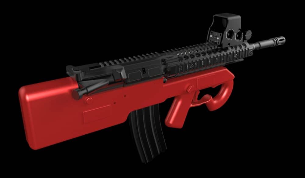 Designs for 3D-printable AR-15 Bullpup Lower Released | OutdoorHub
