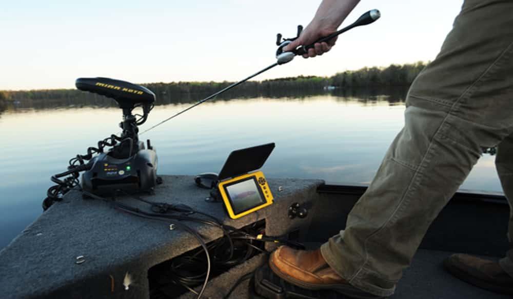 Aqua vu debuts new p o v fishing cam at icast outdoorhub for P o fish