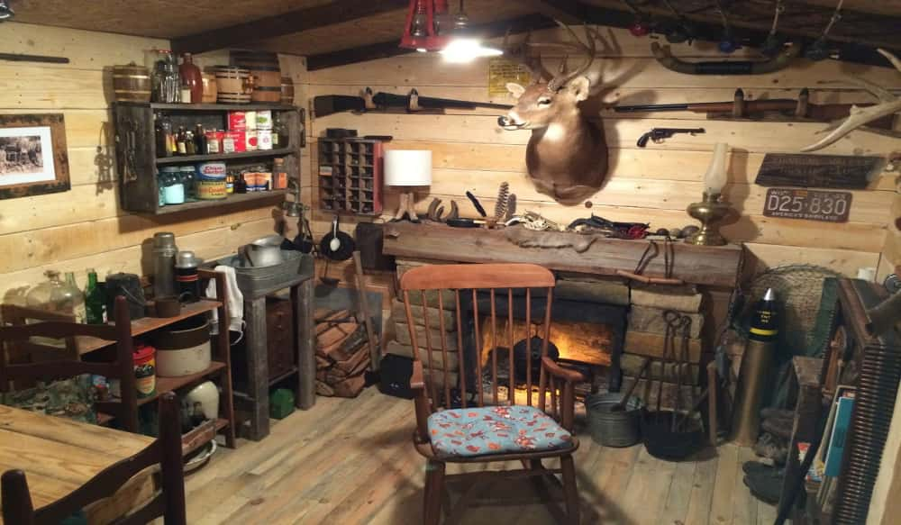Man Cave Garage Hunting : Photos the ultimate hunting lodge with a twist outdoorhub