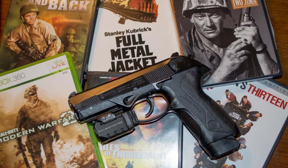 silent trigger movie weapons