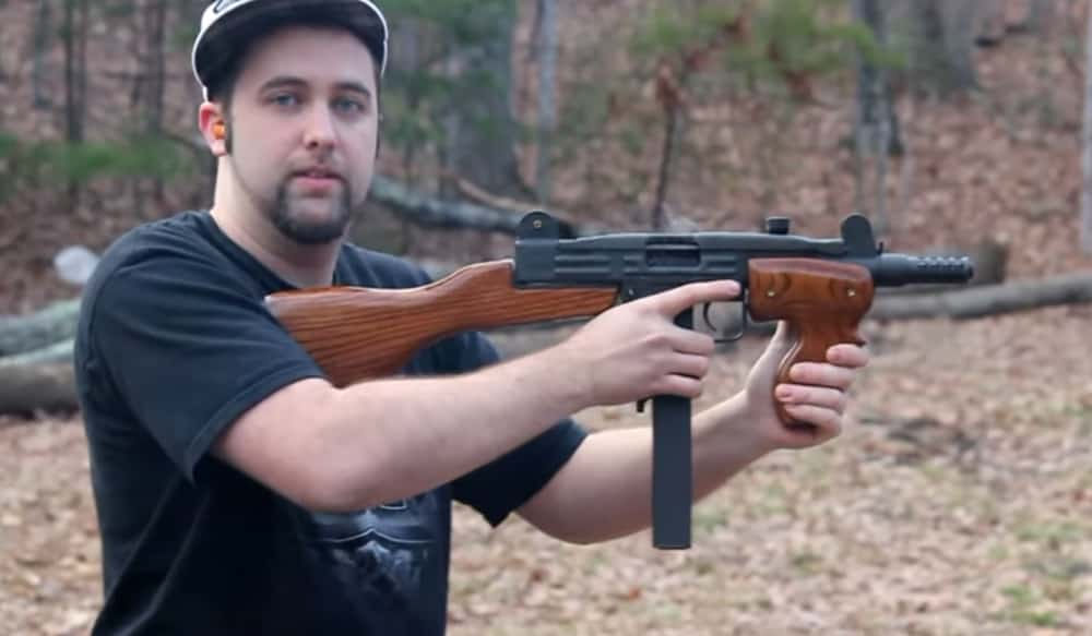 Video: Watch This Full-auto  45 ACP