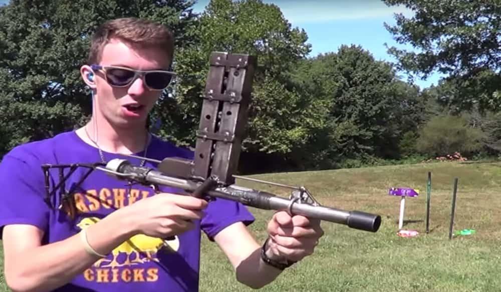 Hub Auto Parts >> Video: The Homemade, Pump-action, Slamfire Shotgun | OutdoorHub