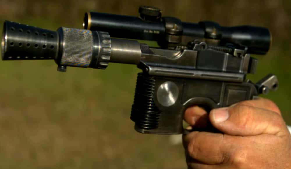 The Mauser C96 Inspired Star Wars DL-44 Han Solo Blaster