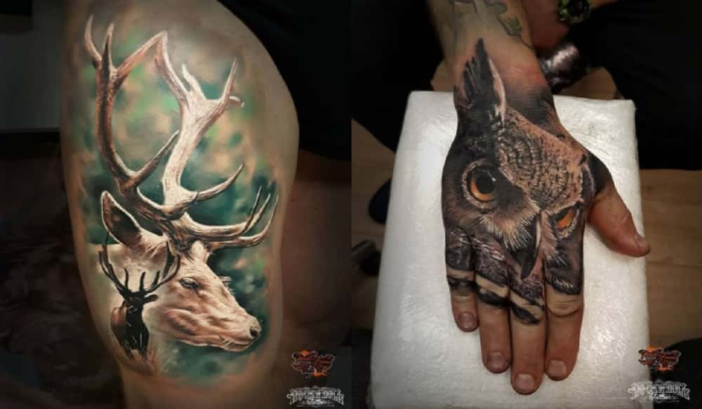 6 outdoor themed tattoo ideas for the inked outdoorsmen outdoorhub