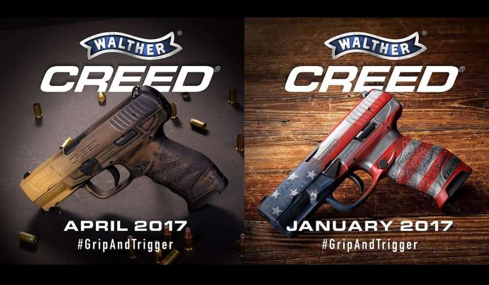 Walther Arms is Giving Away a Custom Firearm Every Month