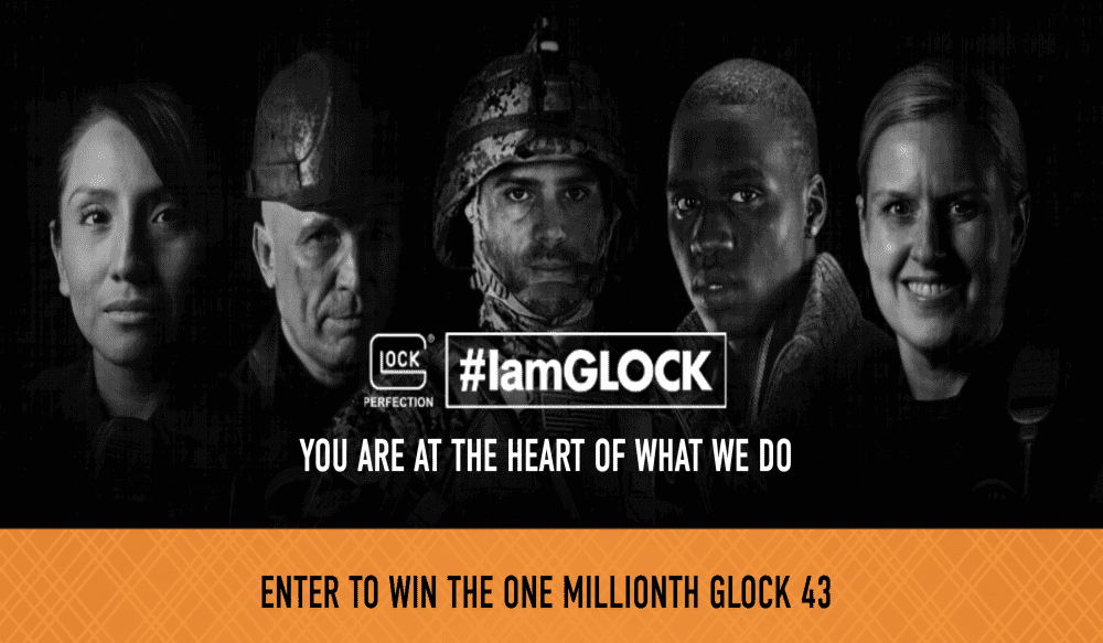 GLOCK Celebrates 1 Million G43 Pistols With the #IamGLOCK Giveaway