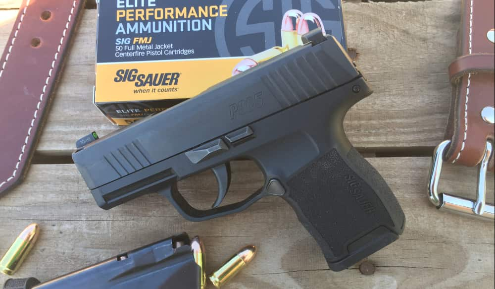 The Sig P365 takes the concealed carry gun concept to a new