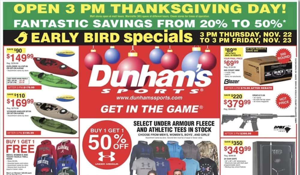 c375afe4d36 Black Friday: Dunham's Sporting Goods Deals   OutdoorHub