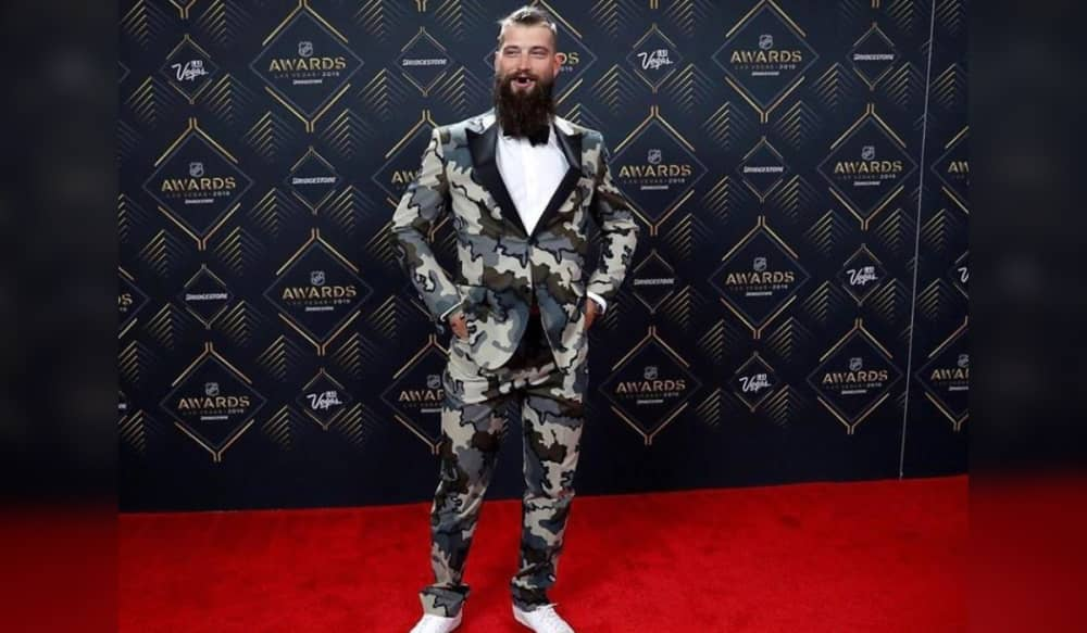 Brent Burns Kuiu Suit Steals The Show At 2019 Nhl Awards Outdoorhub