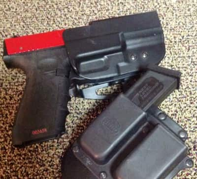 If you really want to do practice right, get a SIRT practice pistol from Next Level Training. You can do dry fire and magazine changes.