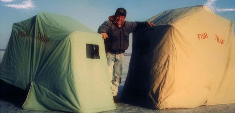 Field test clam yukon x thermal ice fishing shelter for Dave genz fish trap