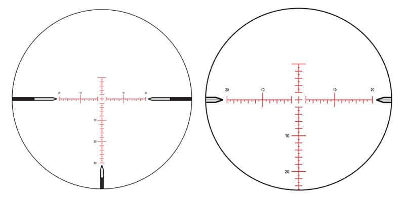 What is better first focal plane or second focal plane