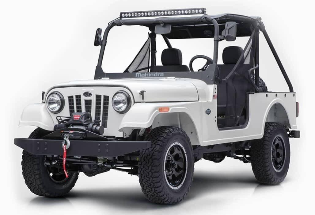 New Mahindra Thar 2018 >> Mahindra's New Roxor UTV Looks Just Like a WWII Jeep | OutdoorHub