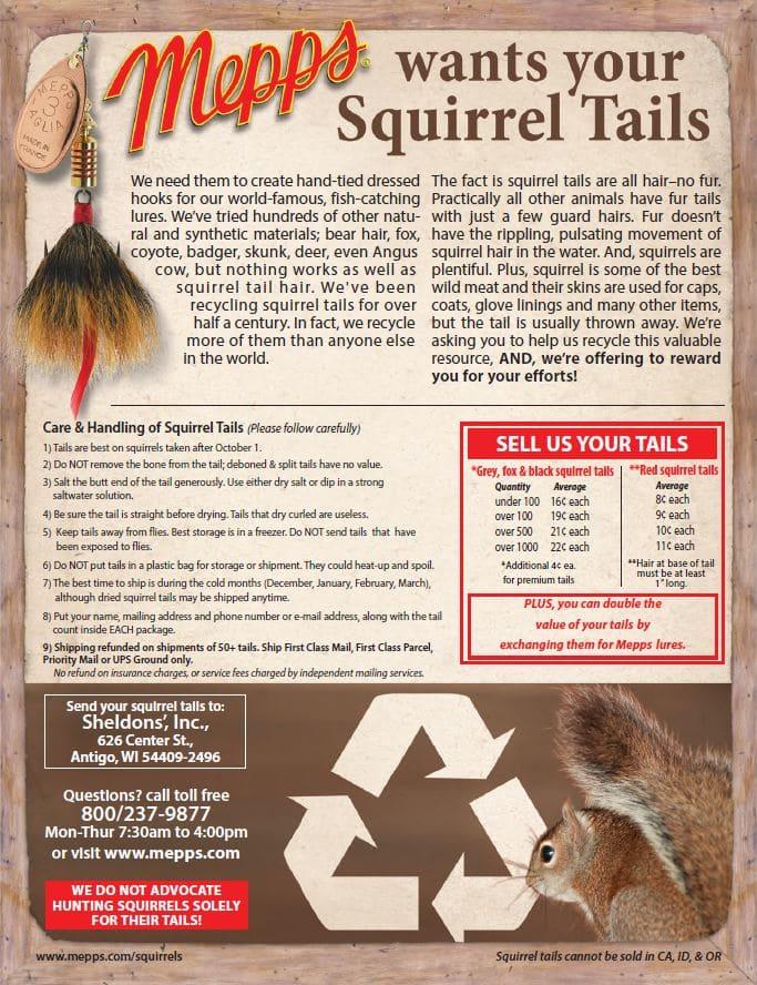 Mepps Squirrel Tail Program