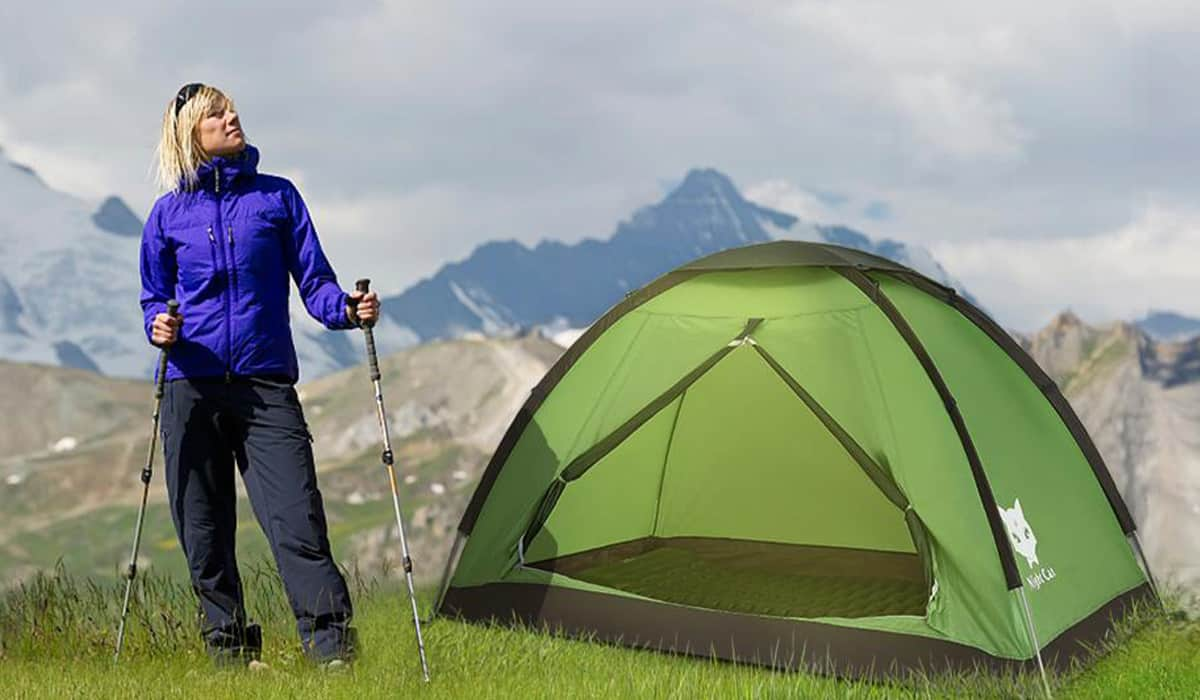 Night Cat 1 or 2 Person Backpacking Tent - Editor's Pick