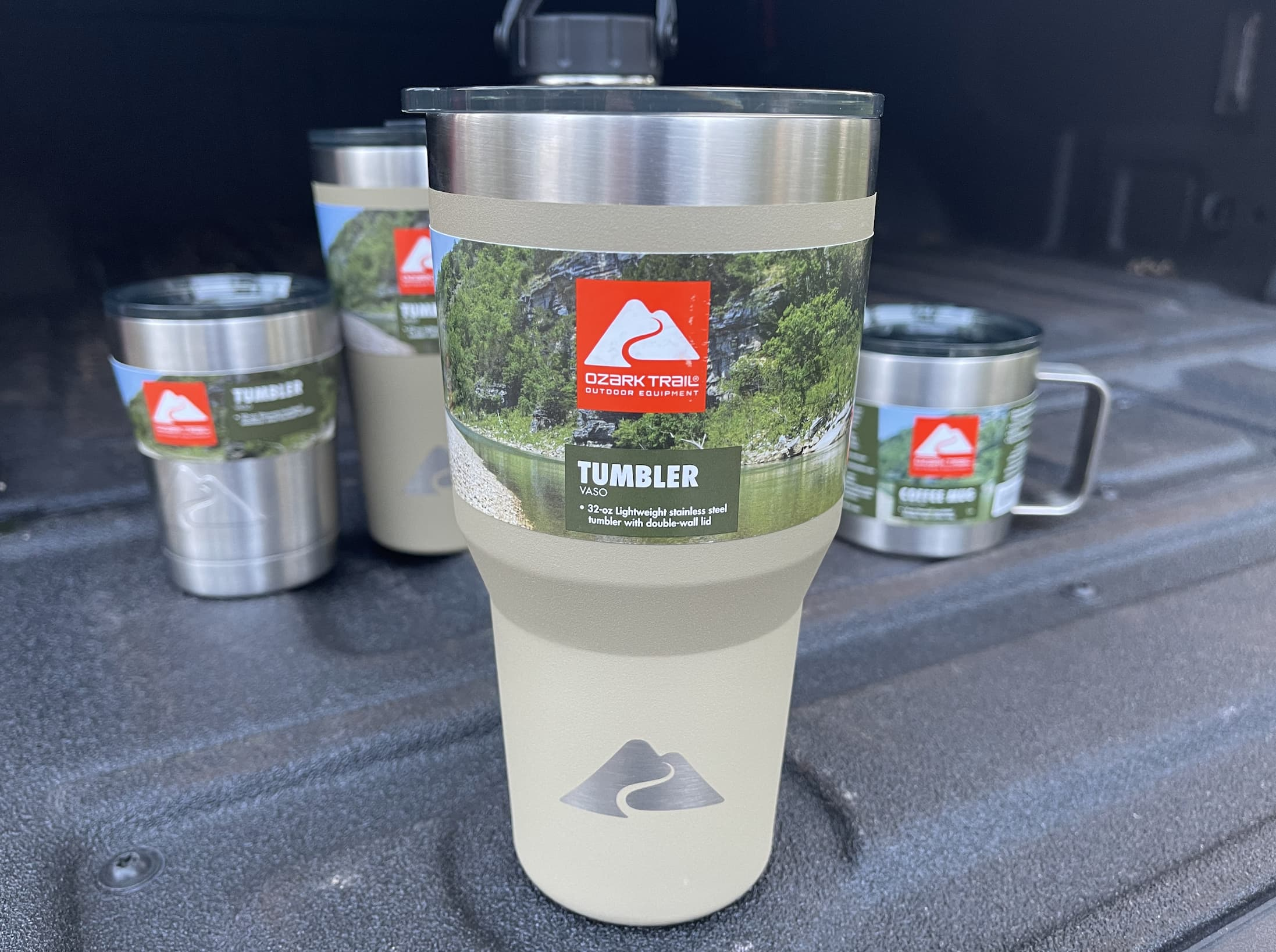 Ozark Trail Double Wall Vacuum Sealed Stainless Steel Tumbler 32 Ounce
