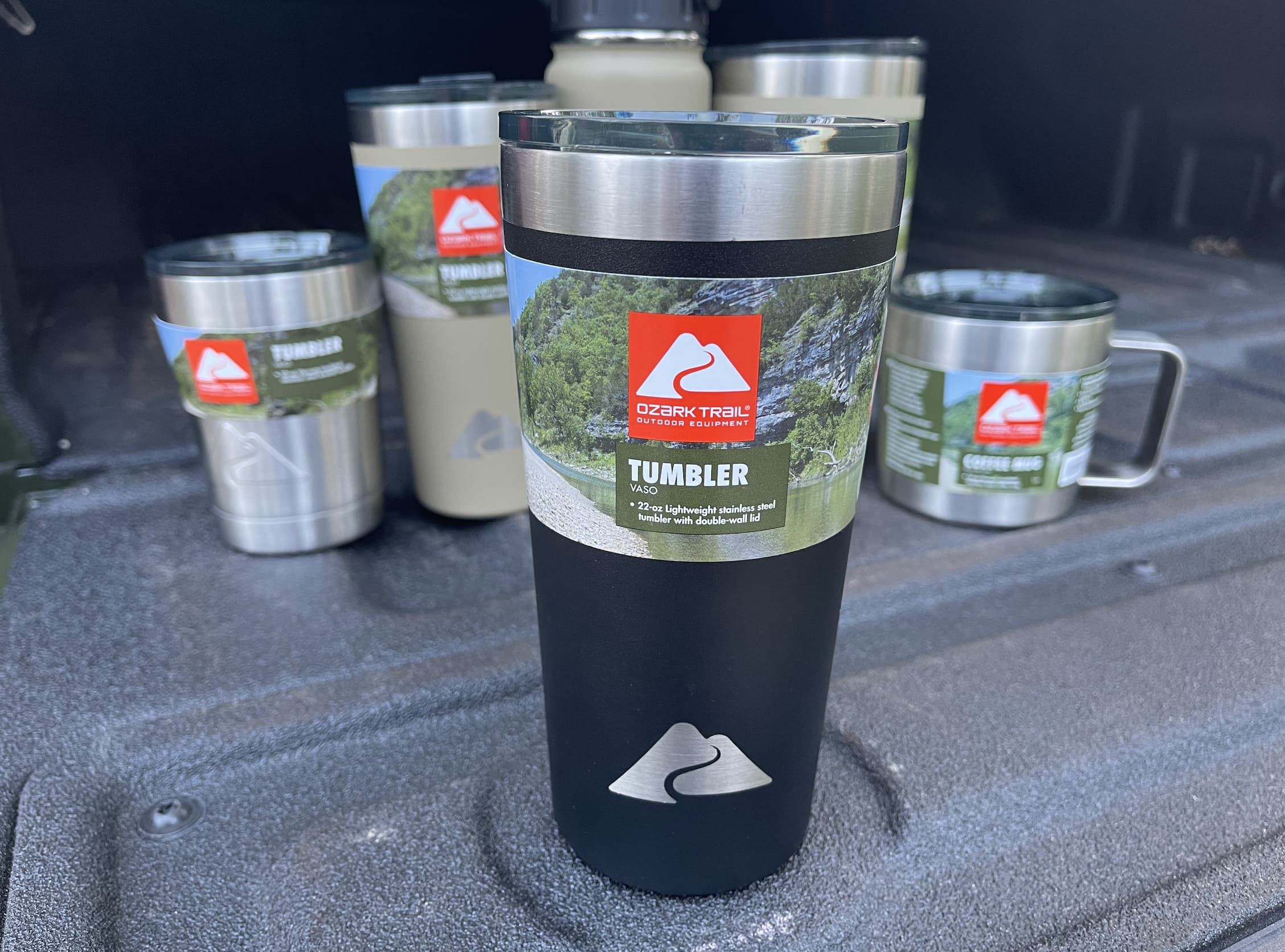 Ozark Trail Double Wall Vacuum Sealed Stainless Steel Tumbler 22