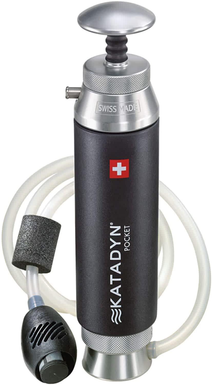 Katadyn Pocket Water Filter - Editor's Pick