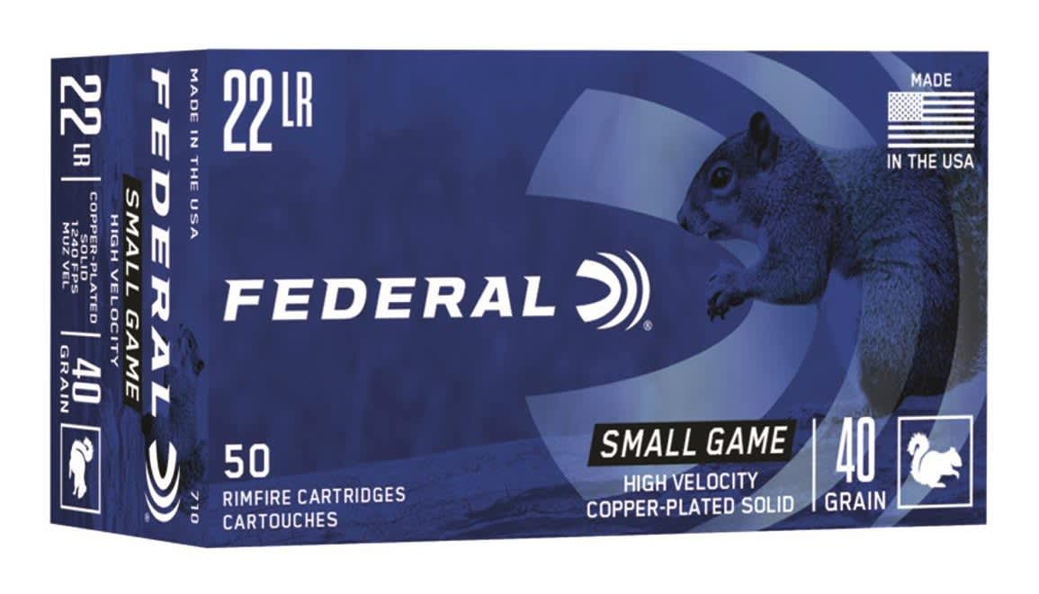 Federal, Game Shok, .22LR, RCRPP - 40 grain