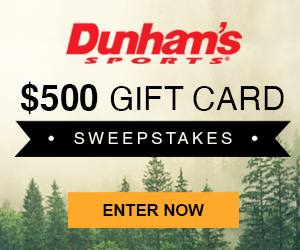 Dunham's Sports $500 Gift Card Sweepstakes